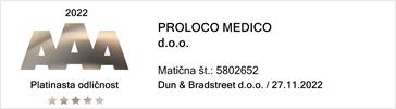 Proloco Medico Bisnode bonitetna ocena